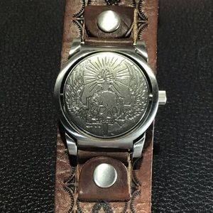 FOSSIL FLIP-WATCH